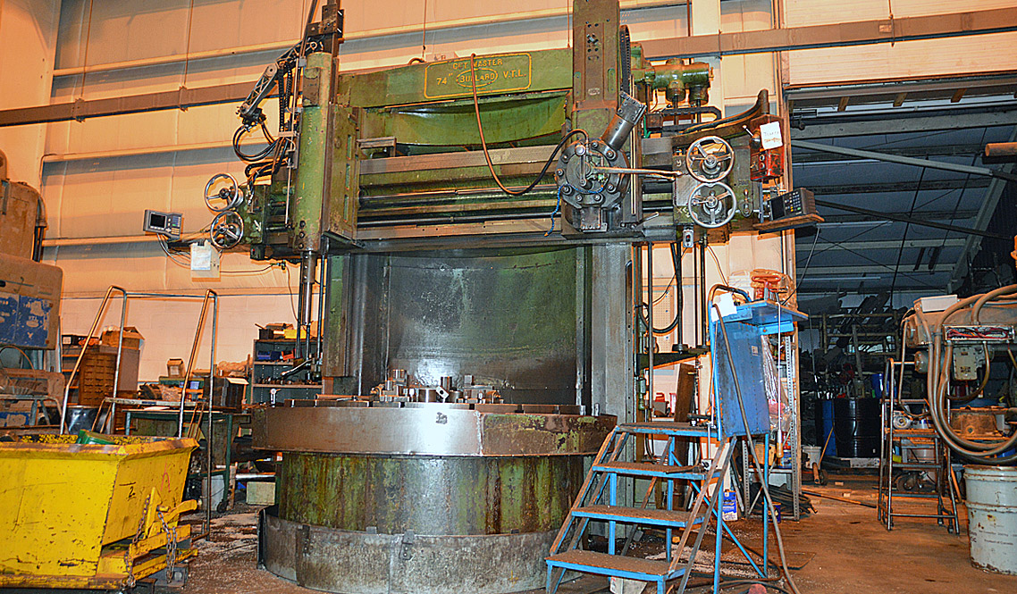 Large diameter vertical boring and turning in cleveland ohio