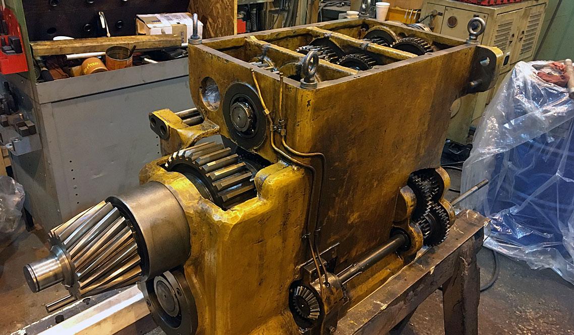Boring Mill Gearbox Repair
