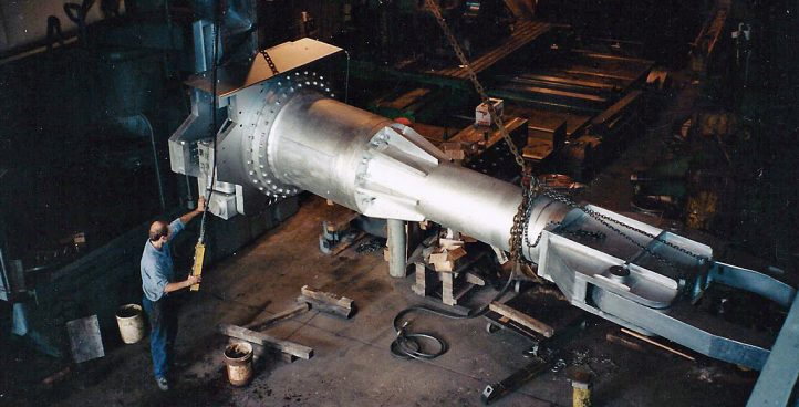 Large Part Machining Projects