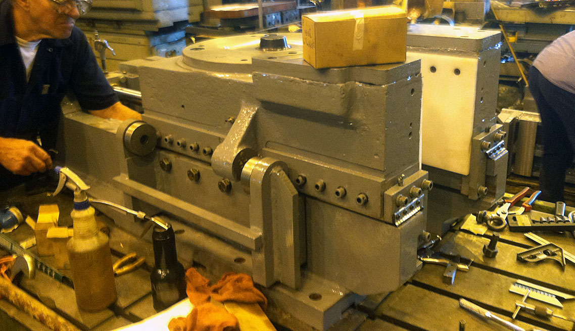 Press Anvil Assembly Repaired